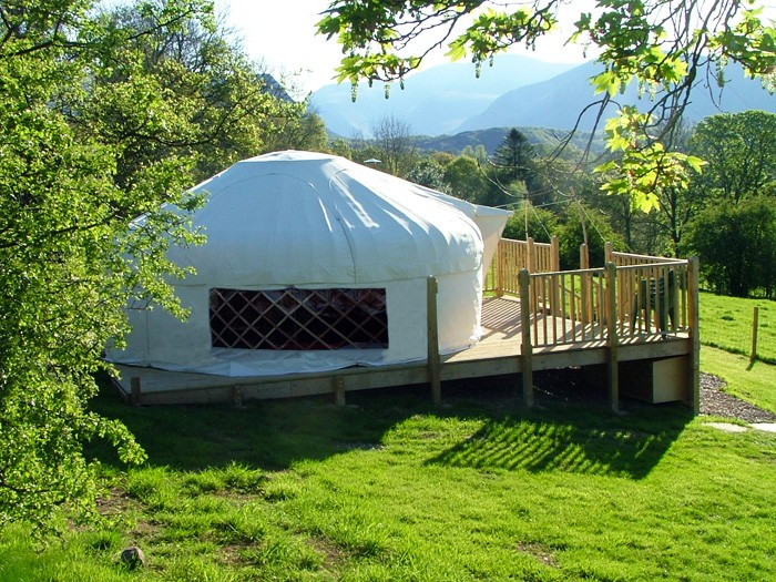 3. yurt in the paddock